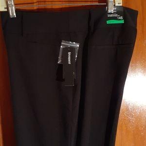 New nwt Alfani black dress pants 14s curvy fit